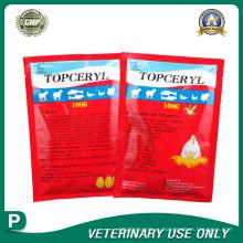 Ветеринарные препараты порошка эритромицина тио окситетрациклина (100 г)