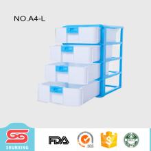 shunxing top-quality material plástico barato armário de armazenamento com bloqueio