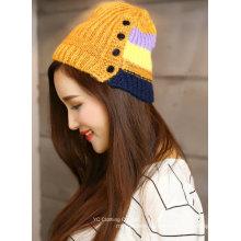 Gestrickte Winter-Multi Color Günstige Crochet Hat