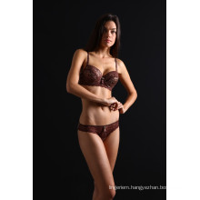 MIORRE LEOPAR WITHOUT OF FOAM BRA SET