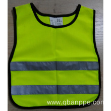 EN1150 Children high visibility reflective safety vest