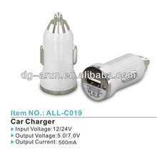 High quality Micro usb car adaptor 5.0V 1A for iphone