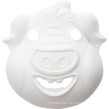 Schwein Kinder DIY Handwerk Malerei Tier Party Gesichtsmaske