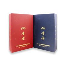Farbenreiche Folie, die kundenspezifischen Papierverpackenkasten stempelt