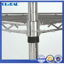 High Quality Chrome Coating Wire Shelving/bathroom wire shelving