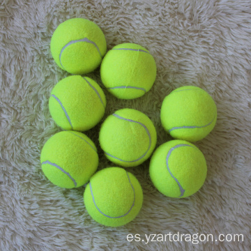 Cheap Customized Logo High Elasticity Trainer Tennis Ball