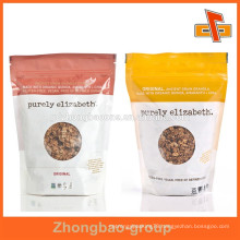 Food packaging zip lock pouch with customized design print