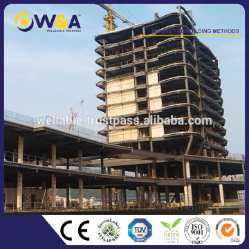 (HFW-1)Steel Structure Prefab House New Building Construction Materials