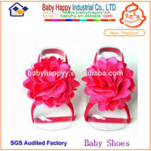 Rote hochwertige pakistanische Sandalen für Baby