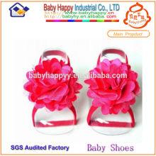 Sandales pakistanaises de haute qualité rouge pour bébé