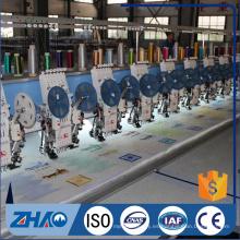 ZHAO 612 + 12 lentejuelas dispositivo de cordaje máquina de bordado computarizado