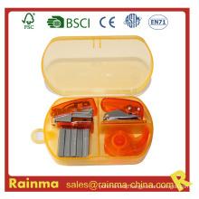 Mini Stapler Set in Plastic Box