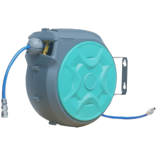 Wall-Mounted Retractable Auto Air Hose Reel