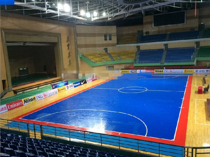 Indoor futsal floor
