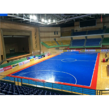 Enlio Lapangan Futsal Lapangan Interlock Indoor