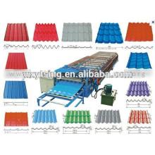 Passado CE e ISO YTSING-YD-1297 Prepainted perfil de telha de aço Roll formando máquina Fabricante