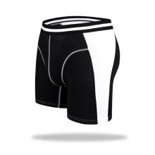 De alta calidad de la fábrica de deporte modal más largo de mediados de la cintura hombres bragas bragas ropa interior