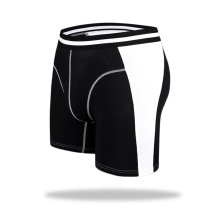 Factory high quality modal sport longer mid- waist men trunk panties underwear