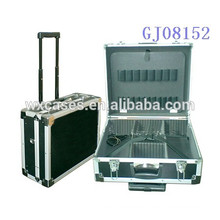 Top quality portable tool box cabinet4 plastic trays with removable dividers