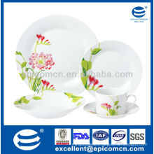 2014 new arrival tableware porcelain round dinner factory direct wholesale