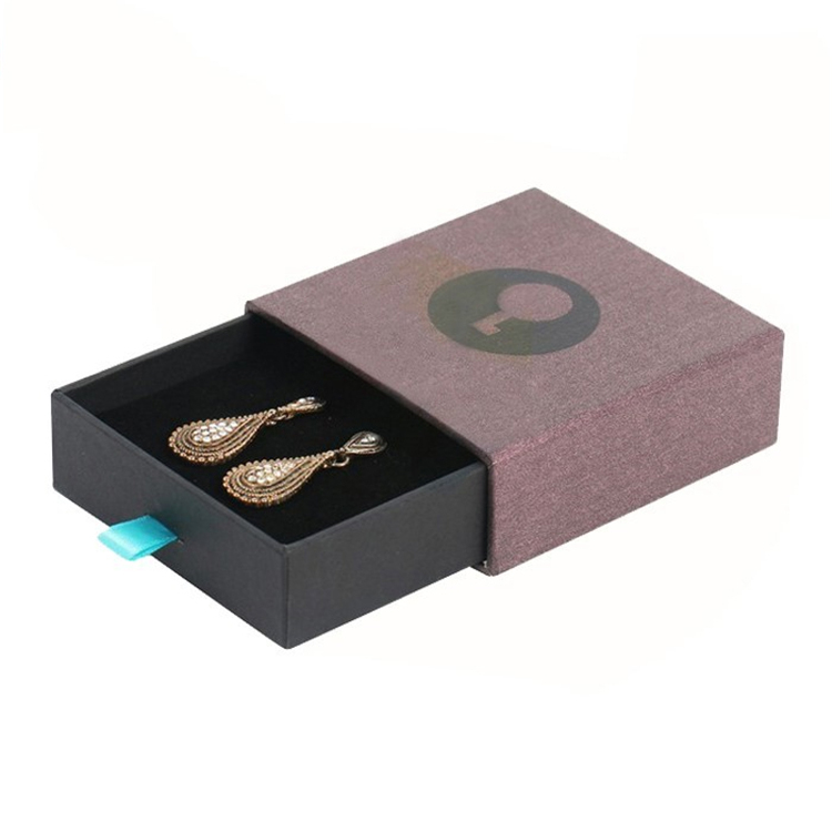 Custom Jewellery Earring Packaging Sliding Paper Box