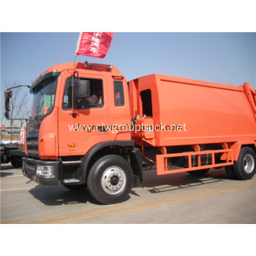 JAC 4x2 Compressed garbage truck for sale
