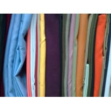 poly / coton 65/35 80/20 tissu pour pantalons lourd sergé de coton tissu