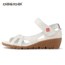 new style high quality leather 2015 nurse medical sandals
