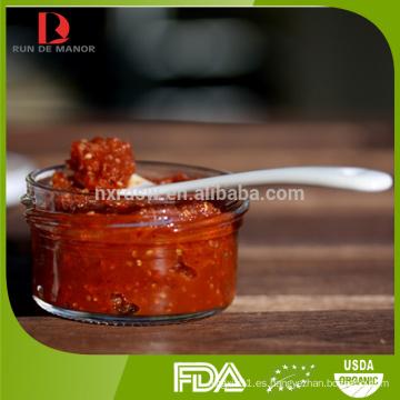 Alta calidad ningxia orgánico goji baya mermelada / mermelada de wolfberry
