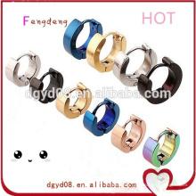 Fashion body piercing jewelry 316 earring stud stainless steel stud earring jewelry suppliers