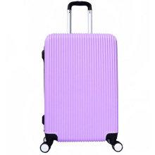 Valise à double rangée de bagage de chariot d'ABS de mode