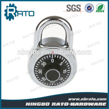 Keyless 1-3/8 Inch Wide Assorted Colors Combination Dial Padlock with Aluminum Alloy Cover