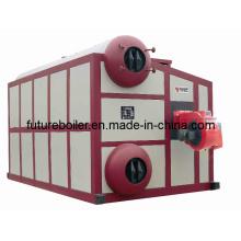 Caldeira de vapor horizontal Watertube (4-35t / h)