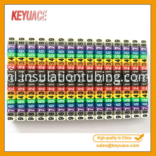 Colorful Plastic Cable Markers