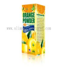 poudre de jus d'orange minceur