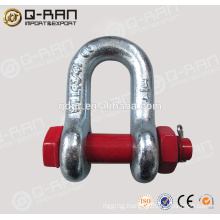 Dee Shackle/Rigging Products Hot Dip Galv.Drop Forged Dee Shackle