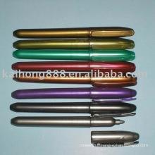 Marqueur de couleur métallique or/argent