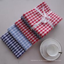 (BC-KT1001) Paño de limpieza Rejilla de rayas Diseño de moda Toalla de cocina