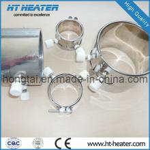 Elemento calefactor de banda de mica industrial aprobado por CE