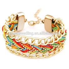 Bracelets bon marché bracelets à cordes personnalisés
