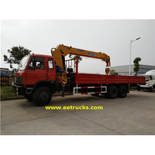 Dongfeng 12 Wheeler 10T Camions à grue hydraulique