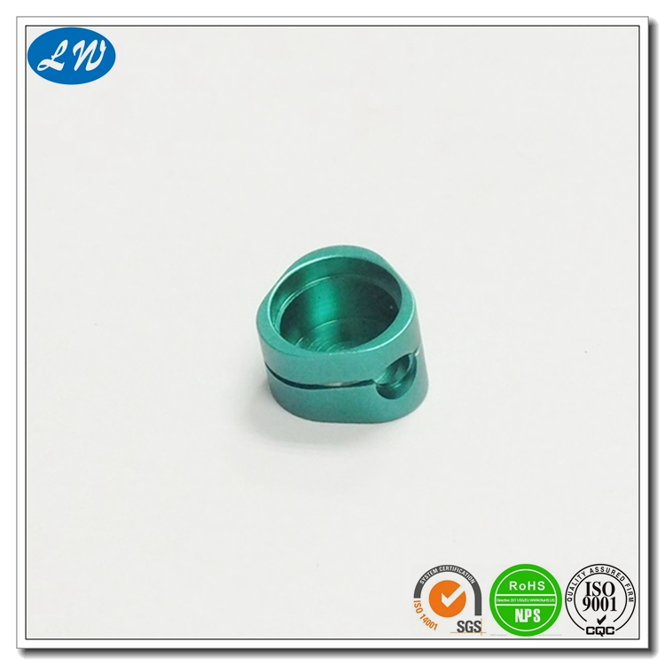 High Demand CNC Milling Machining Polished Anodized Earphone Aluminum Accessories Part Micro Machining Electronic Parts OEM
