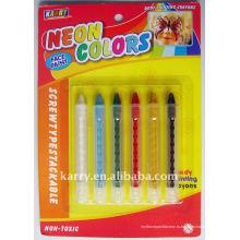 6 цветов неон краска ручка