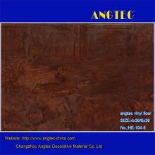 Revestimento de piso de PVC com textura de madeira antiga de 5mm