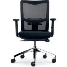 Nouvelle chaise noire de poste de travail de pivot de conception (FOH-XK14)