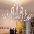 Lampe de lustre décorative moderne en métal Swan 29001