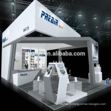 Detian offre la conception de stand d'exposition personnalisée 20x30 stand d'exposition
