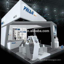 Detian offer custom exhibition booth design 20x30 trade show stand