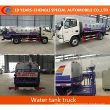 Caminhão de pulverização de água do caminhão de tanque da água de Dongfeng 4X2