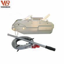 Main tirant la grue manuelle 0.8-5.4ton de câble de treuil de câble métallique du vendeur de porcelaine